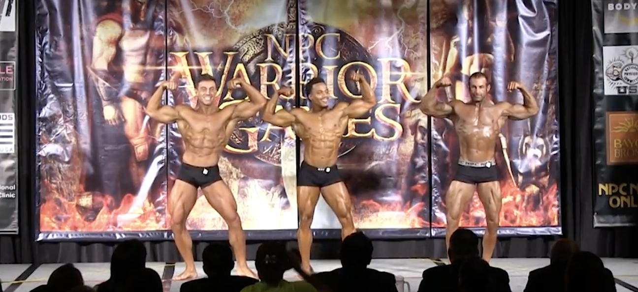 2017 NPC WARRIOR GAMES MEN'S  CLASSIC PHYSIQUE OPEN OVERALL EVENING SHOW VIDEO