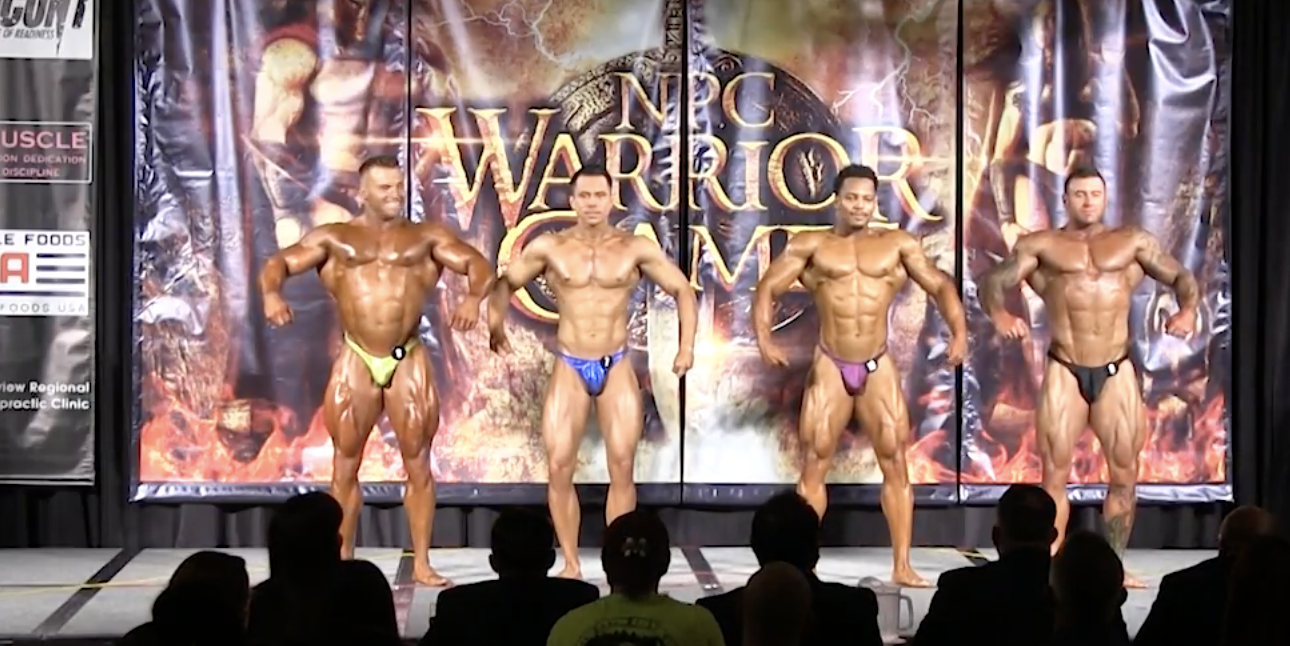 2017 NPC WARRIOR GAMES BODYBUILDING OPEN OVERALL EVENING SHOW
