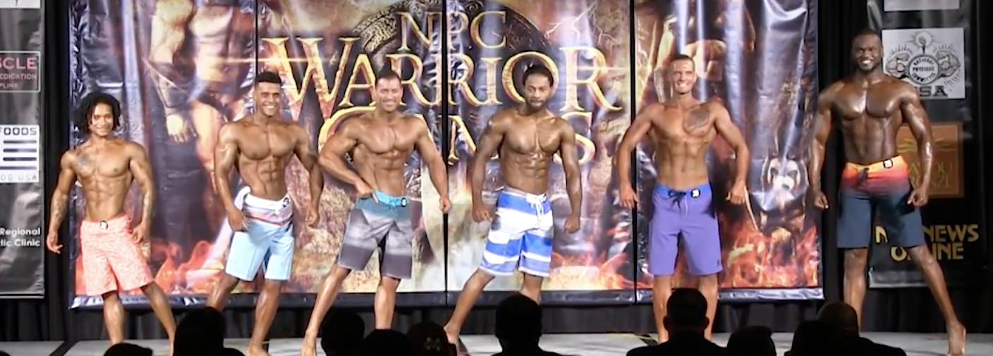 2017 NPC WARRIOR GAMES MEN'S PHYSIQUE OVERALL VIDEO