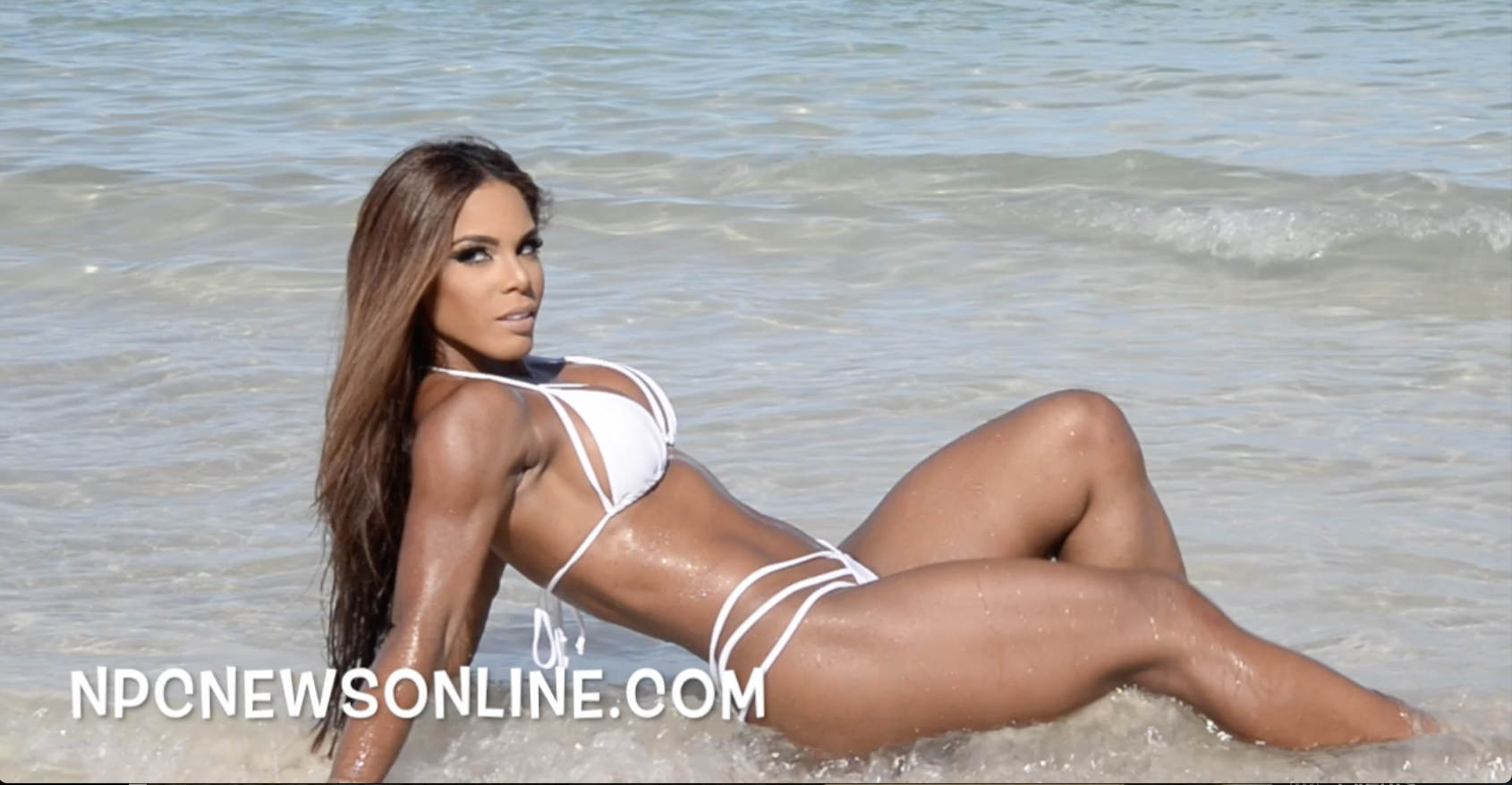 IFBB BIKINI PRO YARISHNA AYALA: J.M. MANION SOUTH BEACH, MIAMI SHOOT 2017