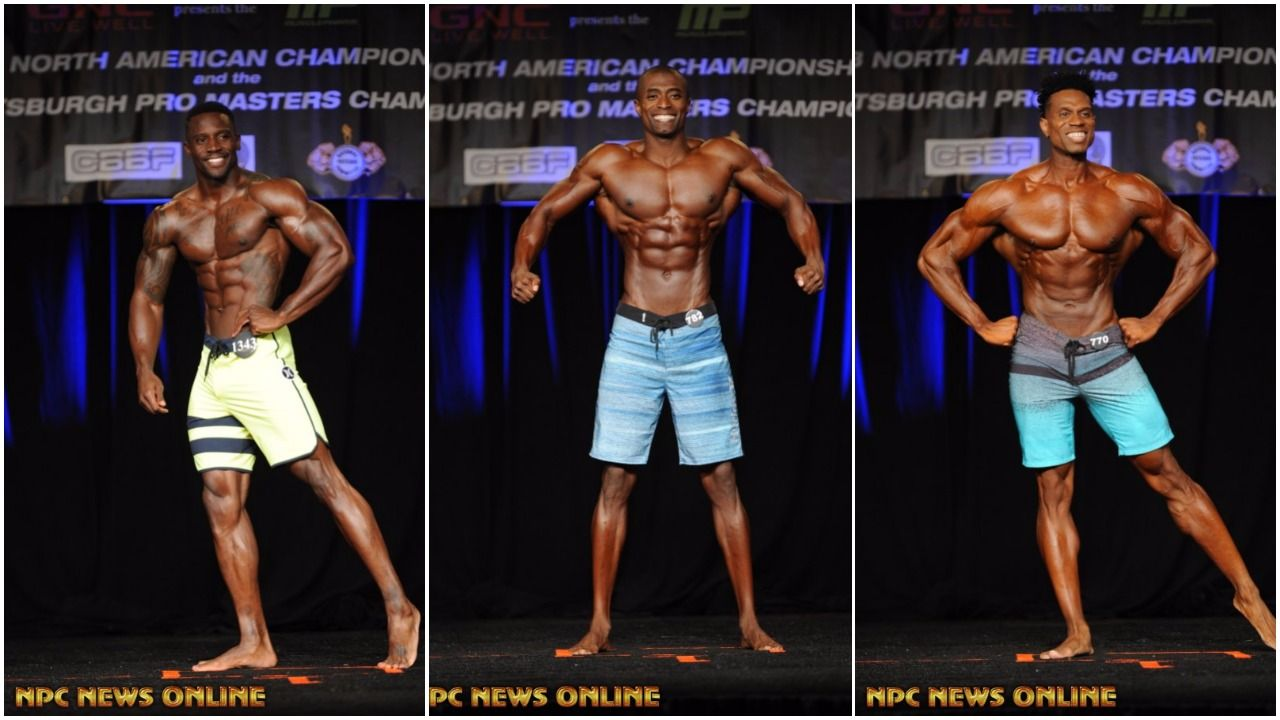IFBB Men's Physique Pro Card Winners From The 2017 IFBB North American Championships