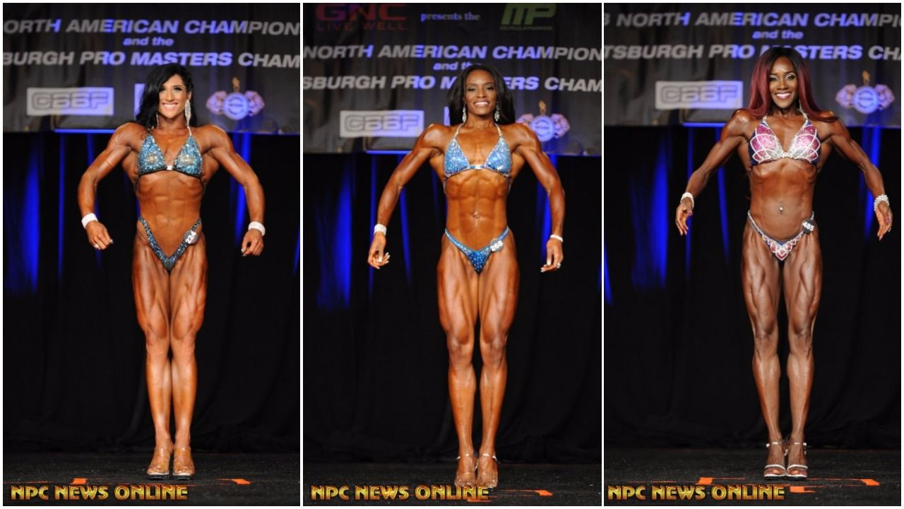 IFBB Women's Figure Pro Card Winners From The 2017 IFBB North American Championships
