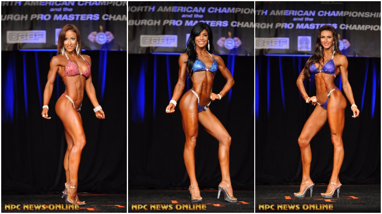 IFBB Bikini Pro Card Winners From The 2017 IFBB North American Championships