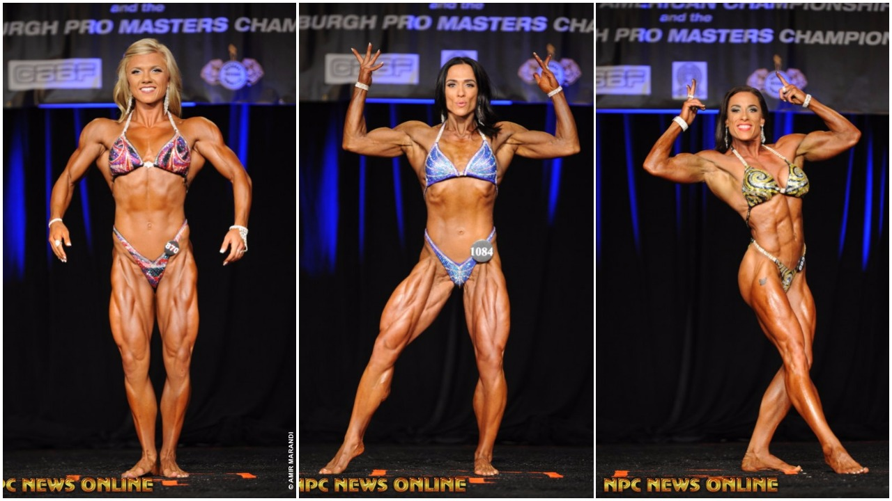 Women's Physique IFBB Pro Card Winners From The 2017 IFBB North American Championships