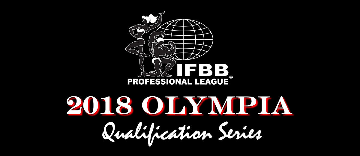 2018 Olympia Qualification Series Update: October 29, 2017