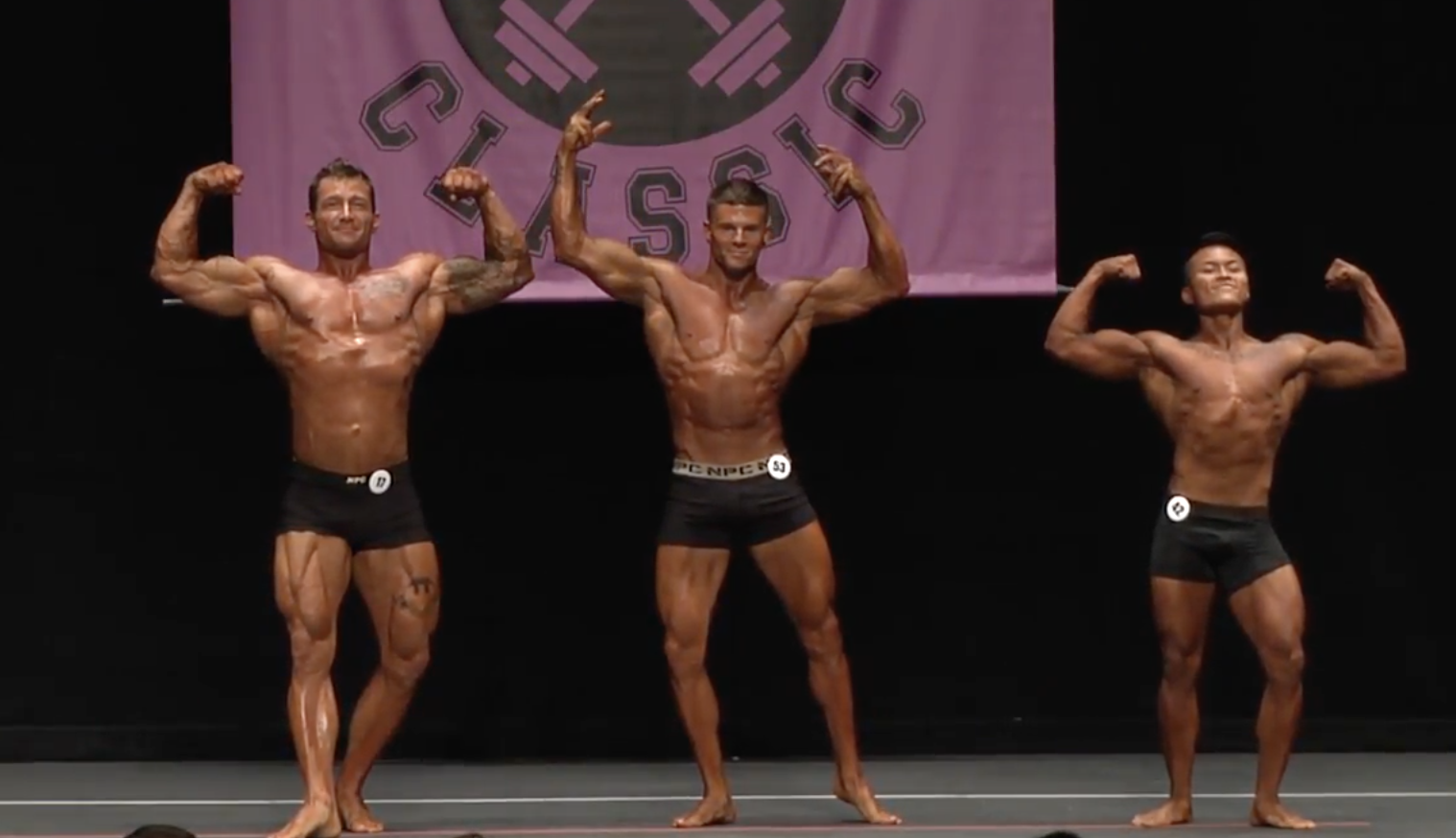 2017 NPC Northern Men's Classic Physique Overall Video