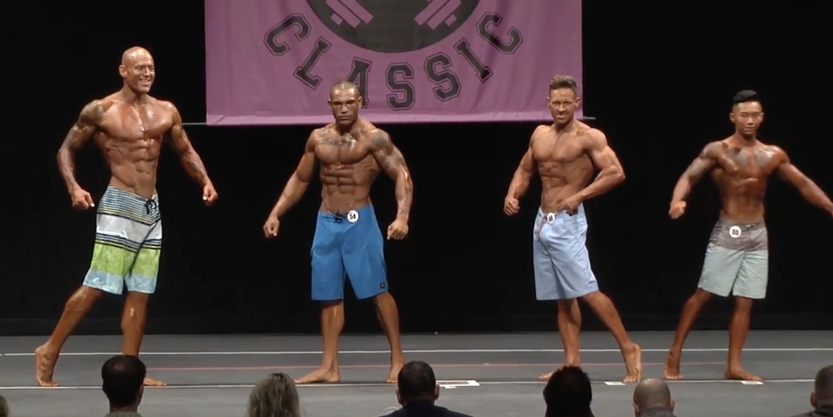 2017 NPC Northern Classic Men's Physique Overall Video