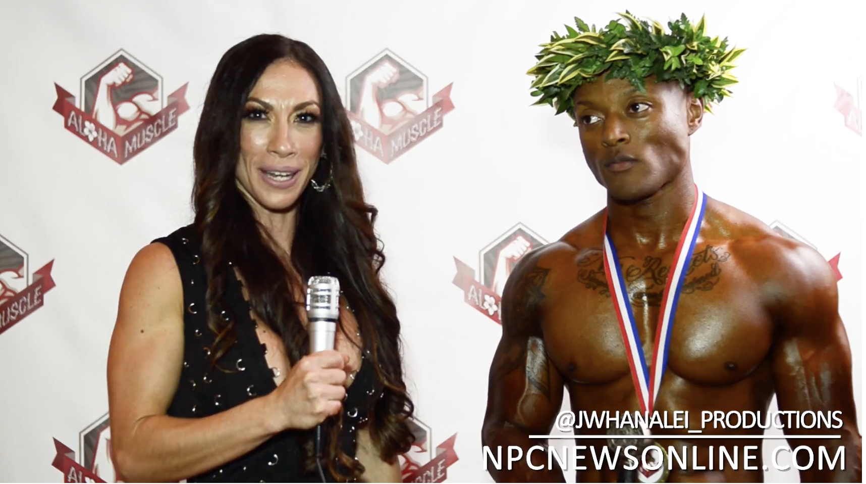 2017 NPC Aloha Muscle Classic Physique Overall Winner Jayson Singleton