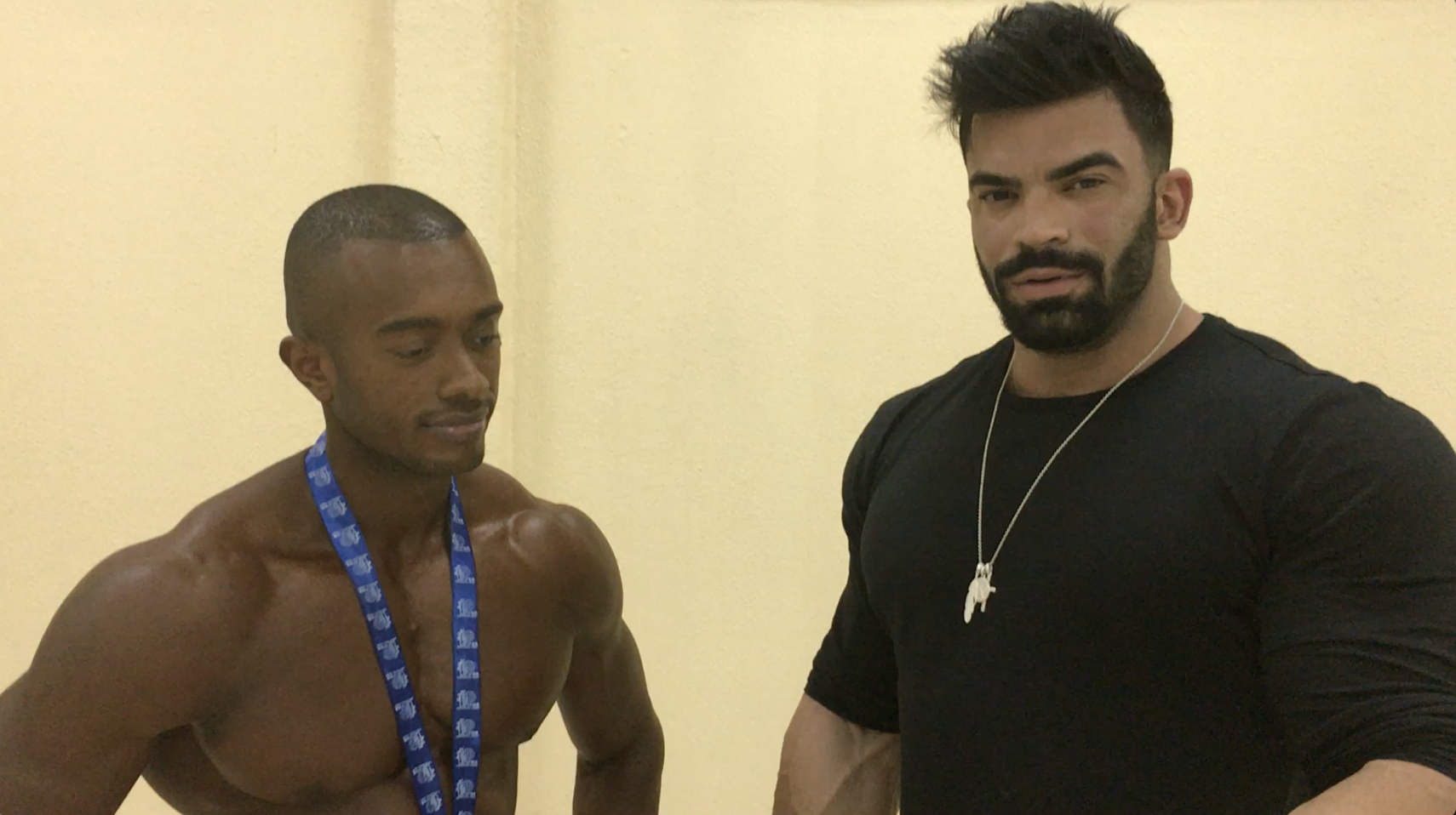 2017 IFBB Kuwait Pro Men's Physique Winner Abdullah Alsaeed interviewed by Sergi Constance & Rico Barakat
