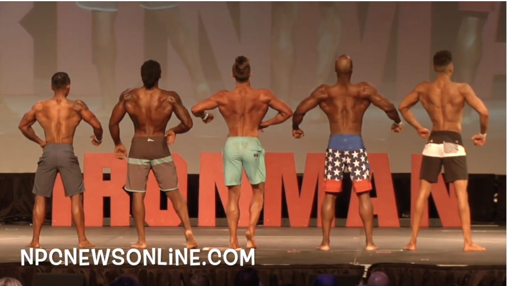 2017 NPC Washington Ironman Men's Physique Overall Video.