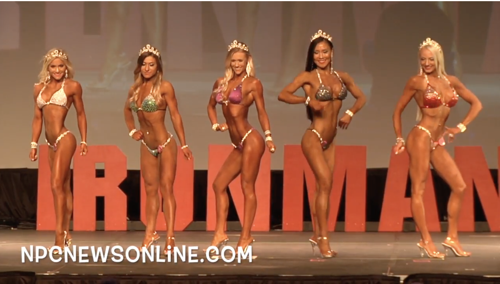 2017 NPC Washington Ironman Bikini Overall Video