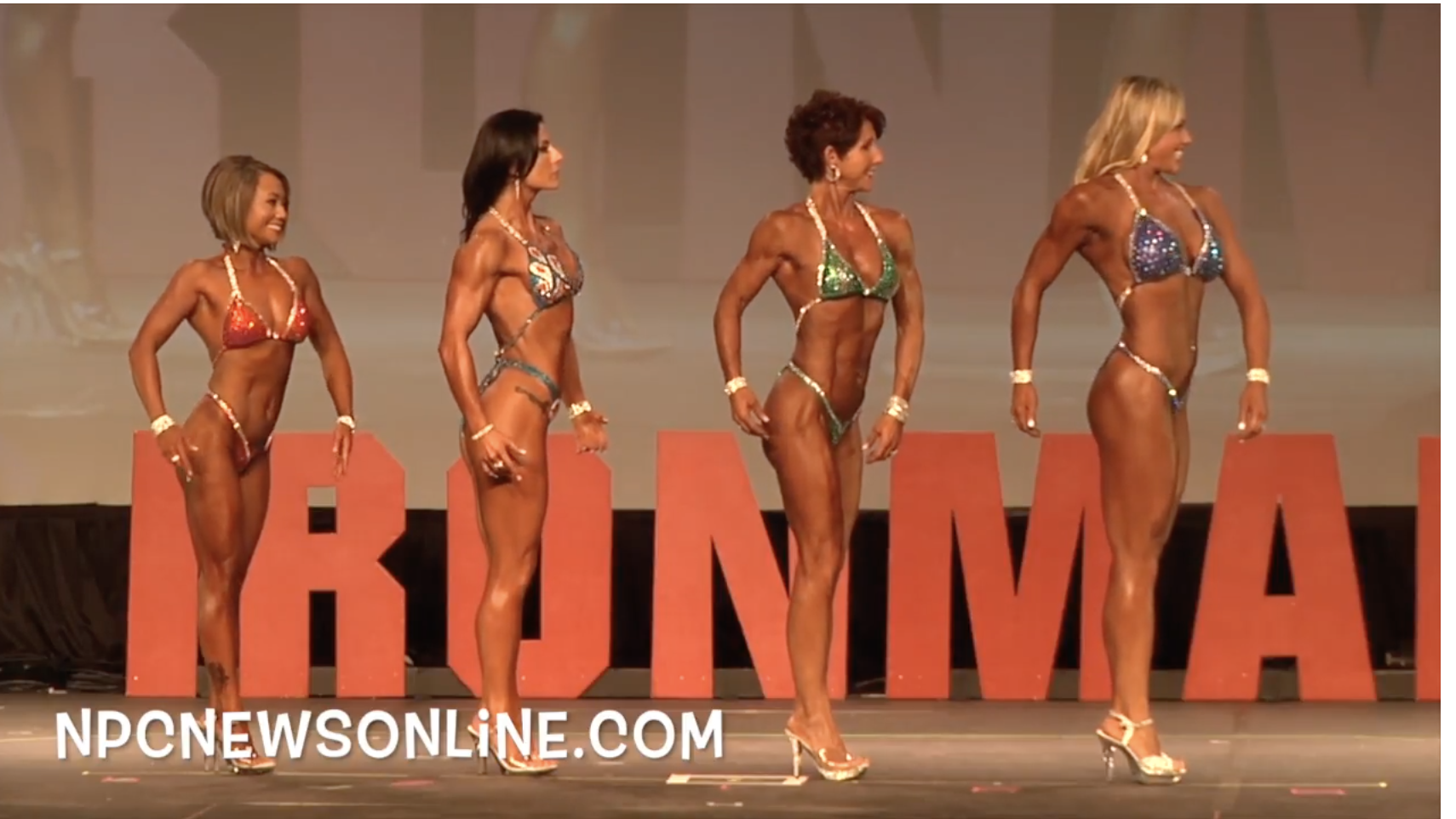 2017 NPC Washington Ironman Women's Figure Overall Video.