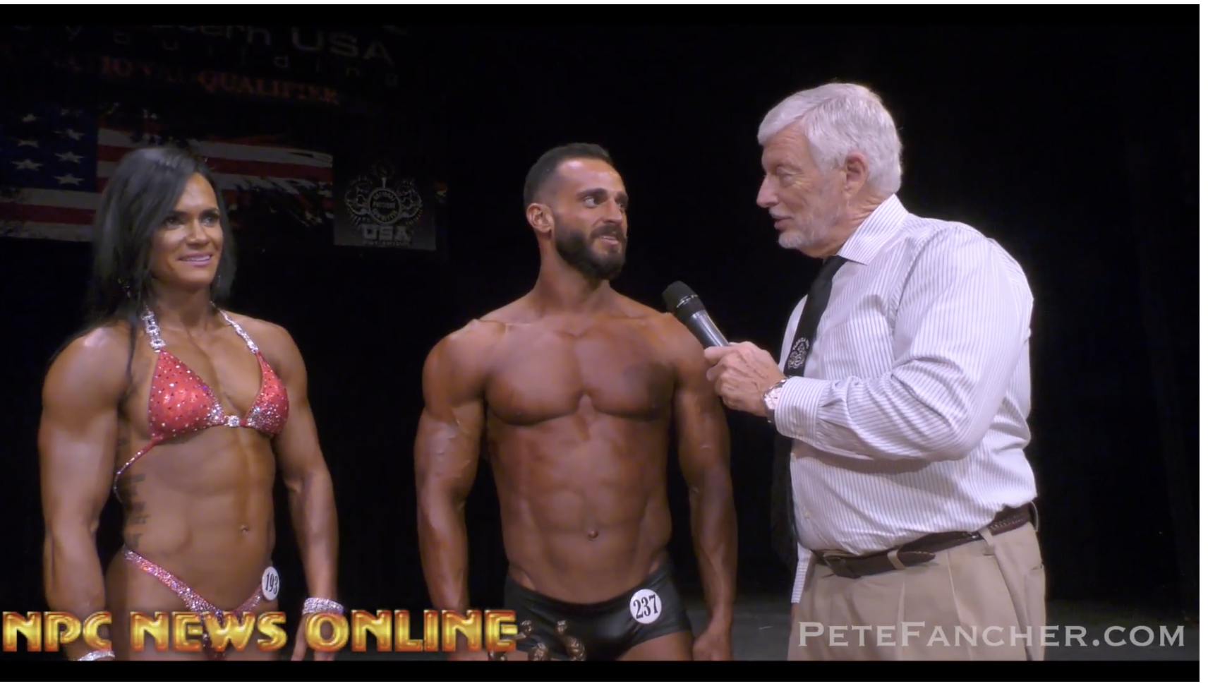 2017 NPC Southeastern USA Overall Winners Interviewed By Pete Fancher