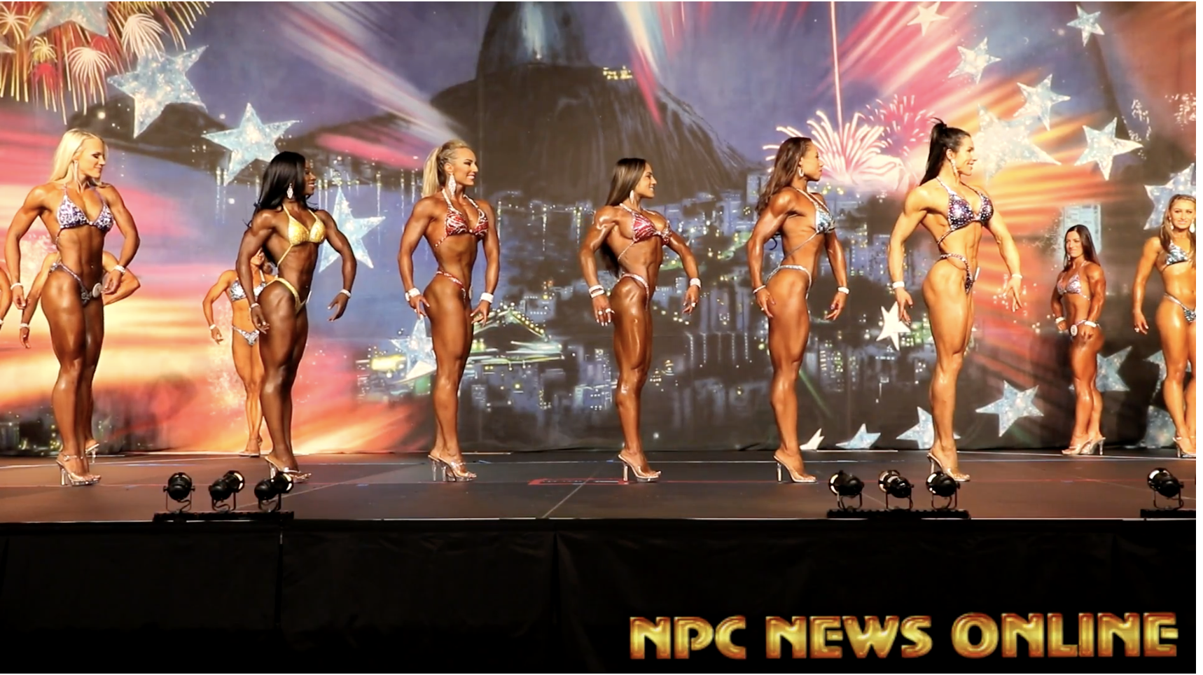2017 IFBB  Europa Phoenix Finals: Fitness Confirmation Round Video