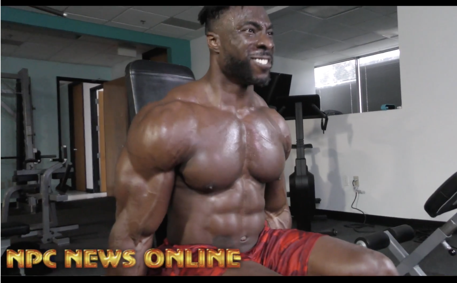 IFBB Men's Physique Pro Travales Blount 3 Weeks Out From IFBB Kentucky Pro Video