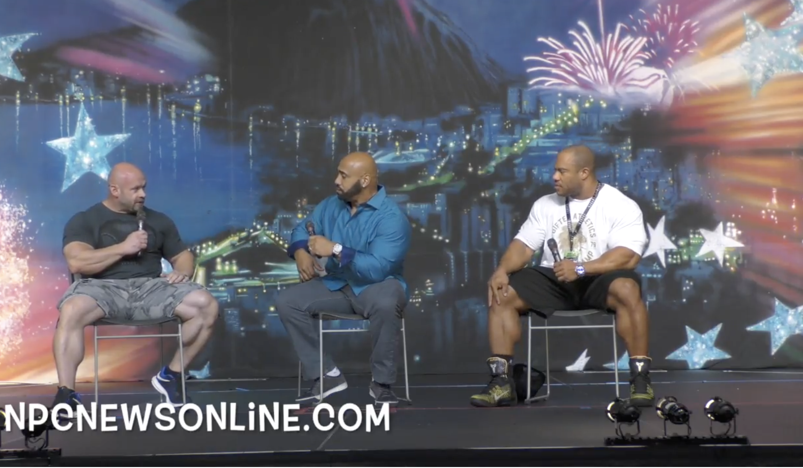 2017 NPC Ultimate Grand Prix: 7-Time Mr.Olympia Phil Heath, Dennis James & Branch Warren