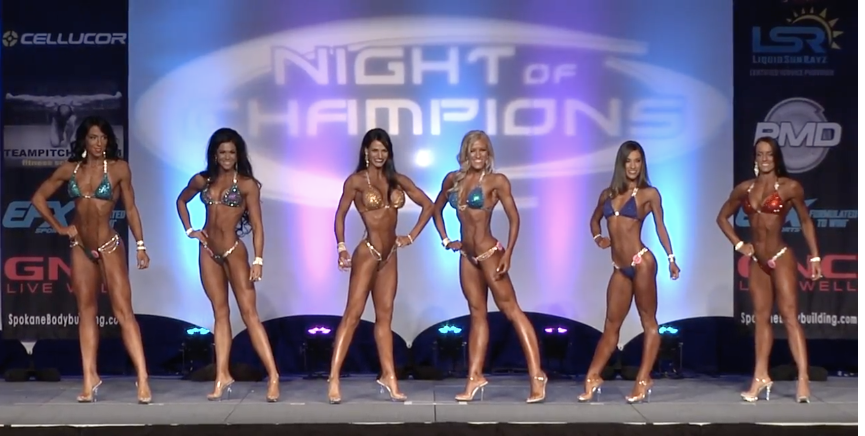 2017 NPC Night of Champions Bikini Overall Video