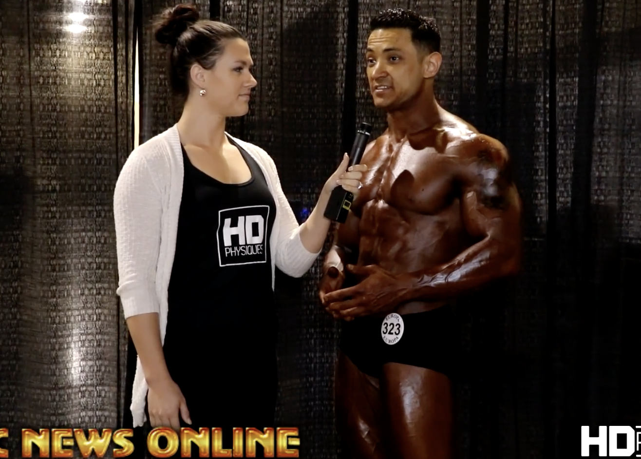2017 NPC Phoenix Europa Mens Classic Physique Overall  Interview