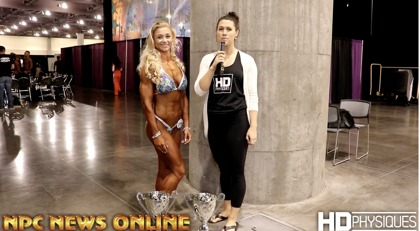 2017 NPC  Phoenix Europa  Women's Physique Overall Winner Tiffany Boyle Interview