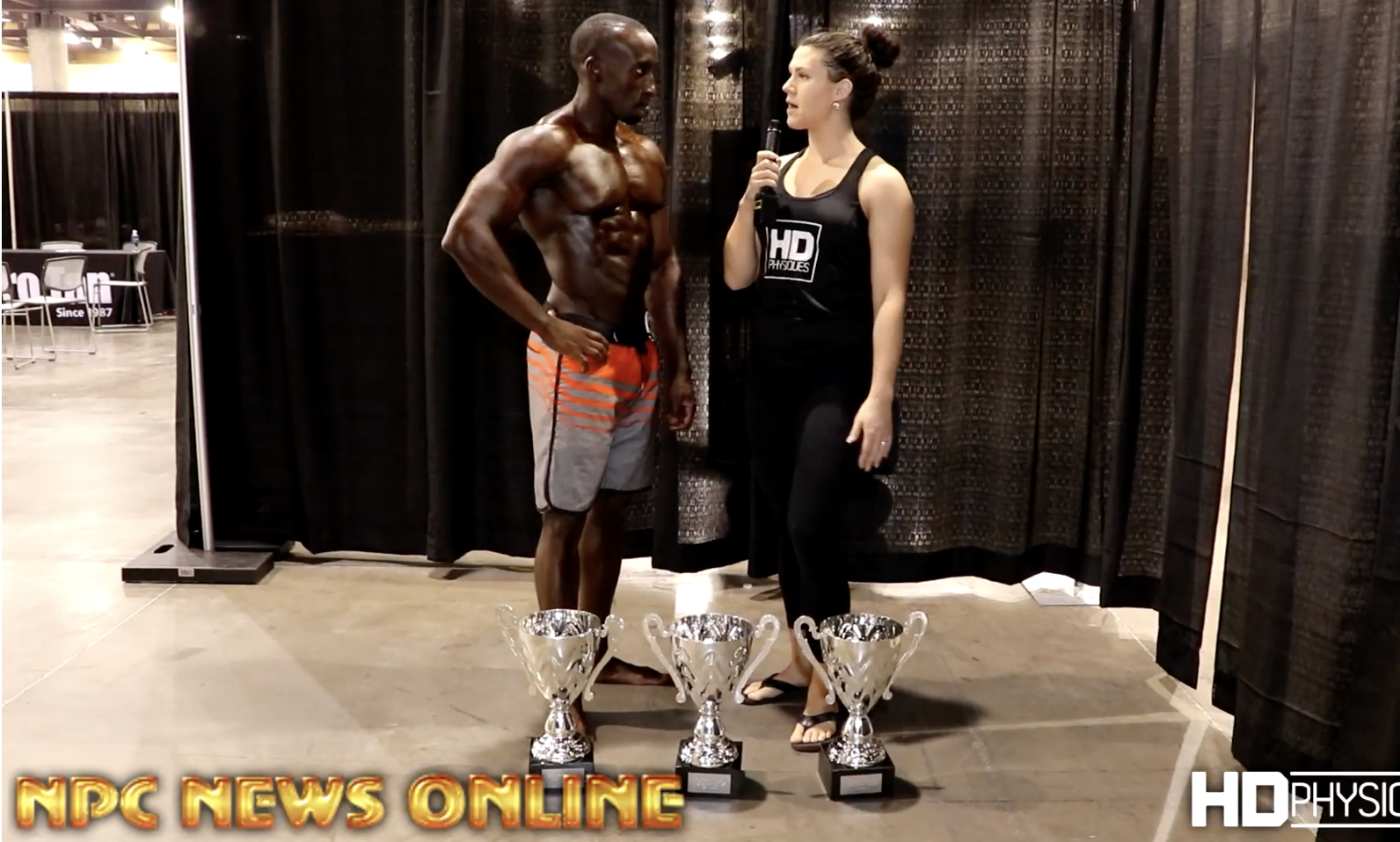 2017 NPC Phoenix Europa Overall Men's Physique Interview