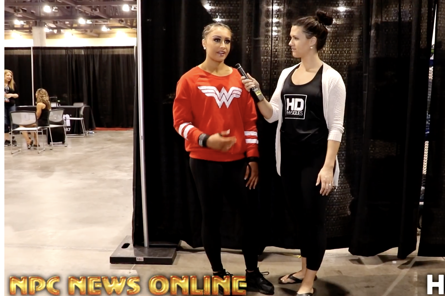 2017 NPC Phoenix Europa Interview With IFBB Fitness Pro Nicole Neargarder