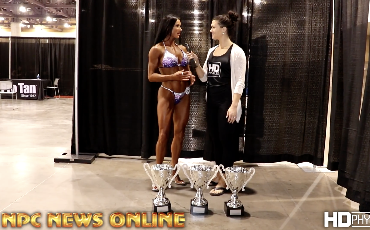 2017 NPC Phoenix Europa Overall Bikini Interview