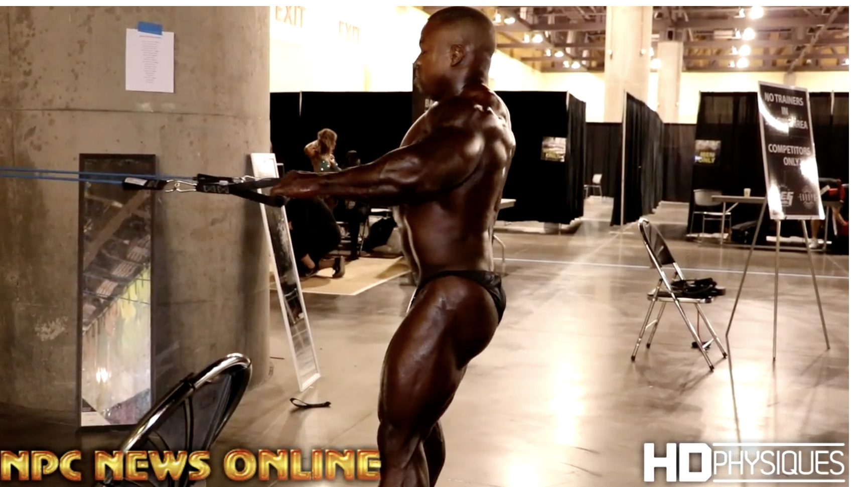 2017 IFBB  Phoenix Europa Backstage Men's Bodybuilding Video