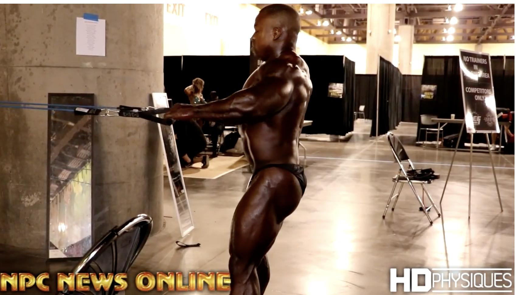 2017 IFBB  Phoenix Europa Backstage Men's Bodybuilding Video