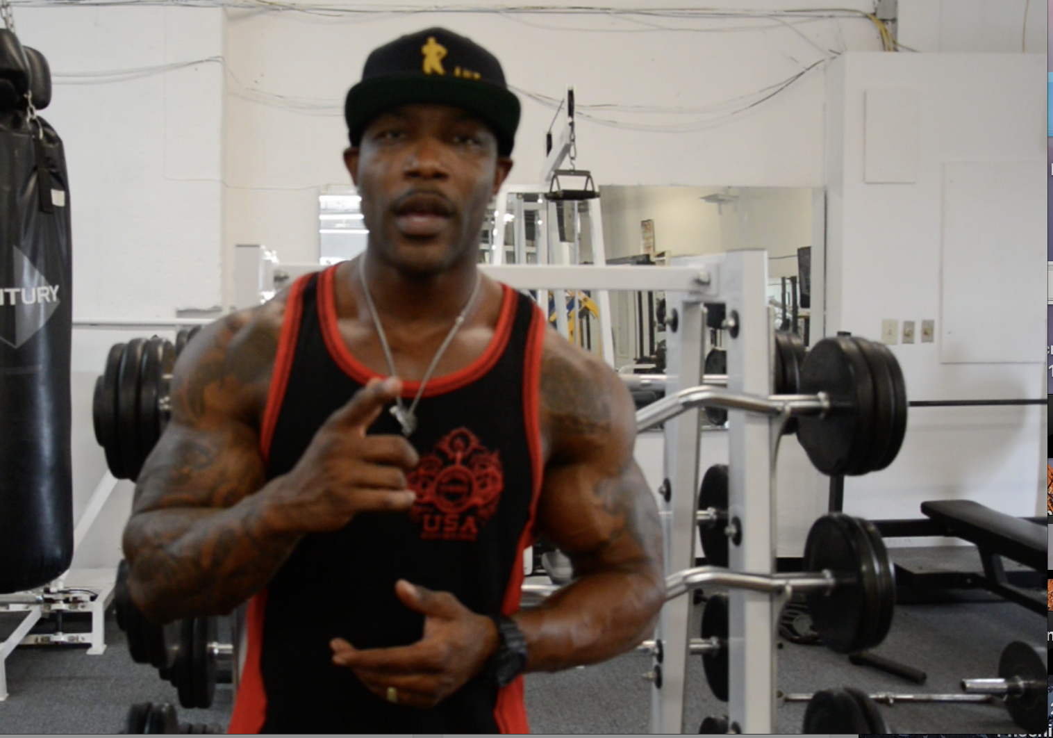 IFBB Men's Physique Pro Ant Williams The Thing I Wish I Knew Video.