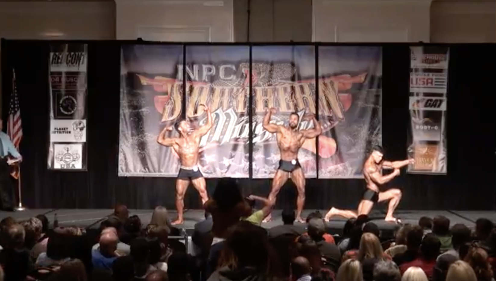2017 NPC SOUTHERN MUSCLE MEN'S CLASSIC PHYSIQUE OPEN OVERALL VIDEO