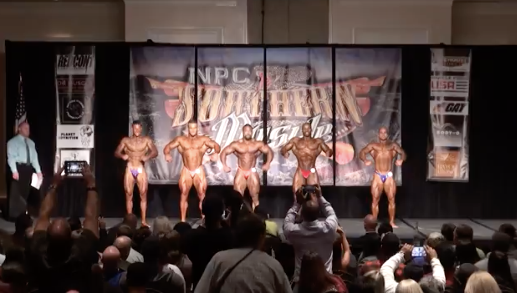 2017 NPC SOUTHERN MUSCLE MEN'S BODYBUILDING OPEN OVERALL EVENING SHOW VIDEO