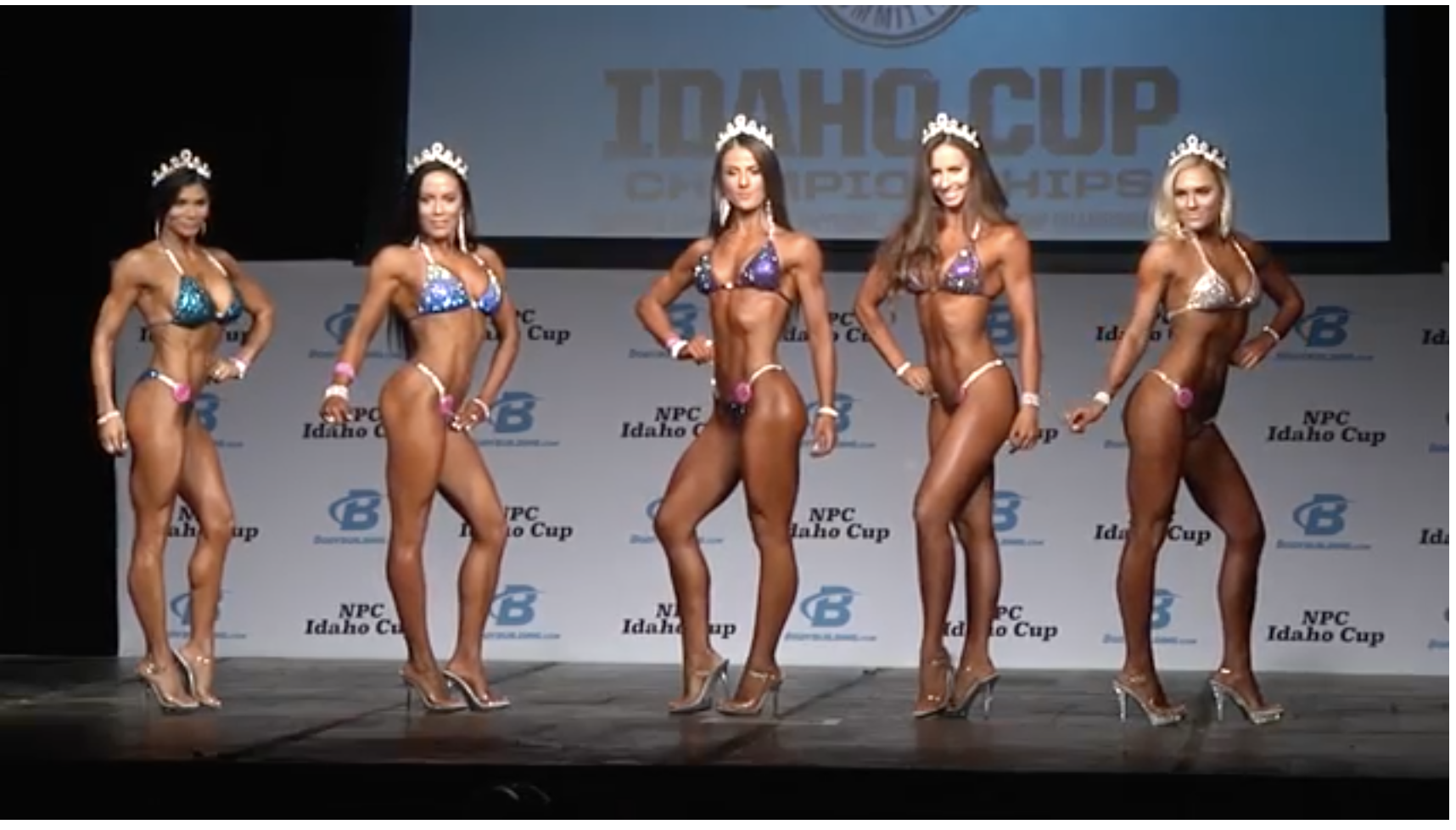 2017 NPC IDAHO CUP BIKINI OVERALL VIDEO