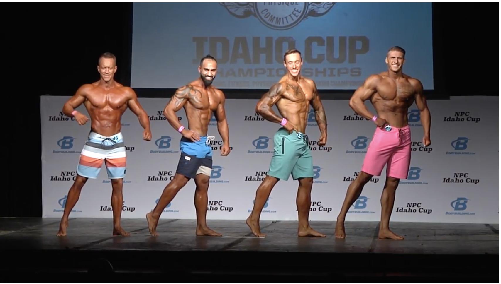 2017 NPC Idaho Cup Men's Physique Overall Video