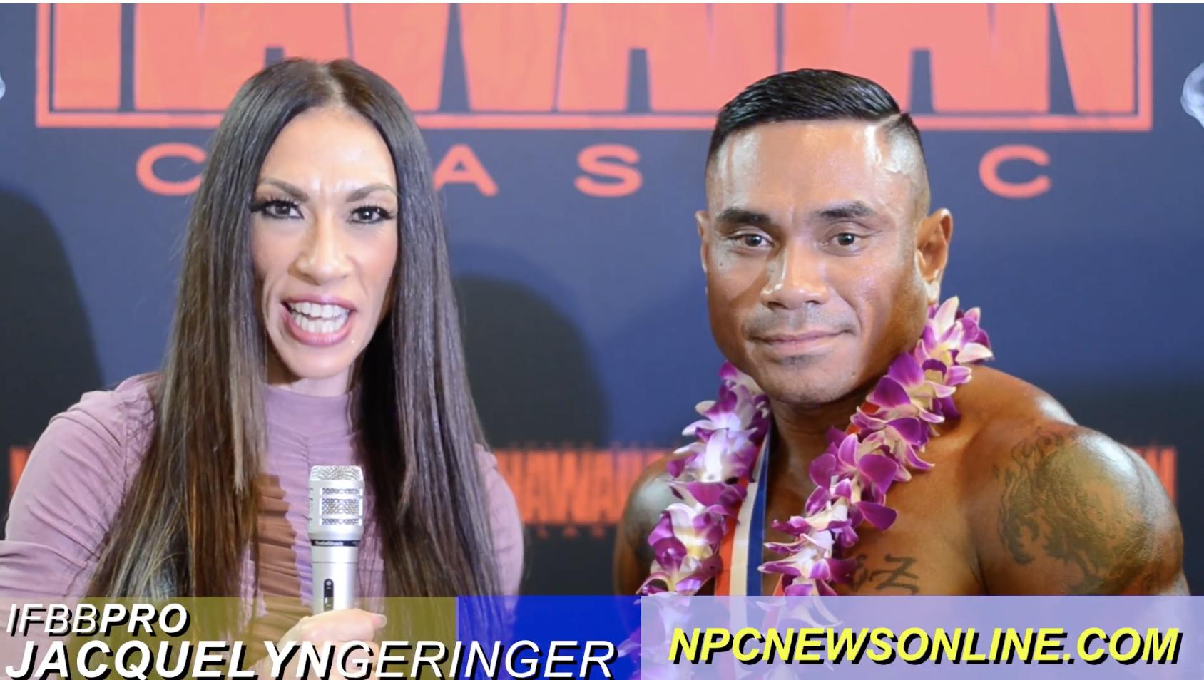 2017 NPC Shawn Ray Hawaiian Classic Masters Bodybuilding Overall Winner