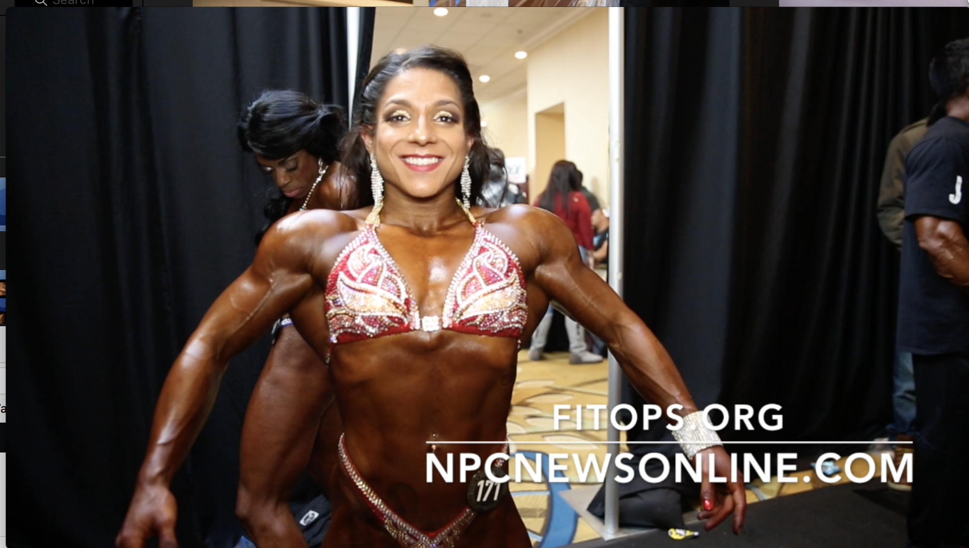 2017 NPC EASTERN USA WOMEN'S PHYSIQUE BACKSTAGE VIDEO