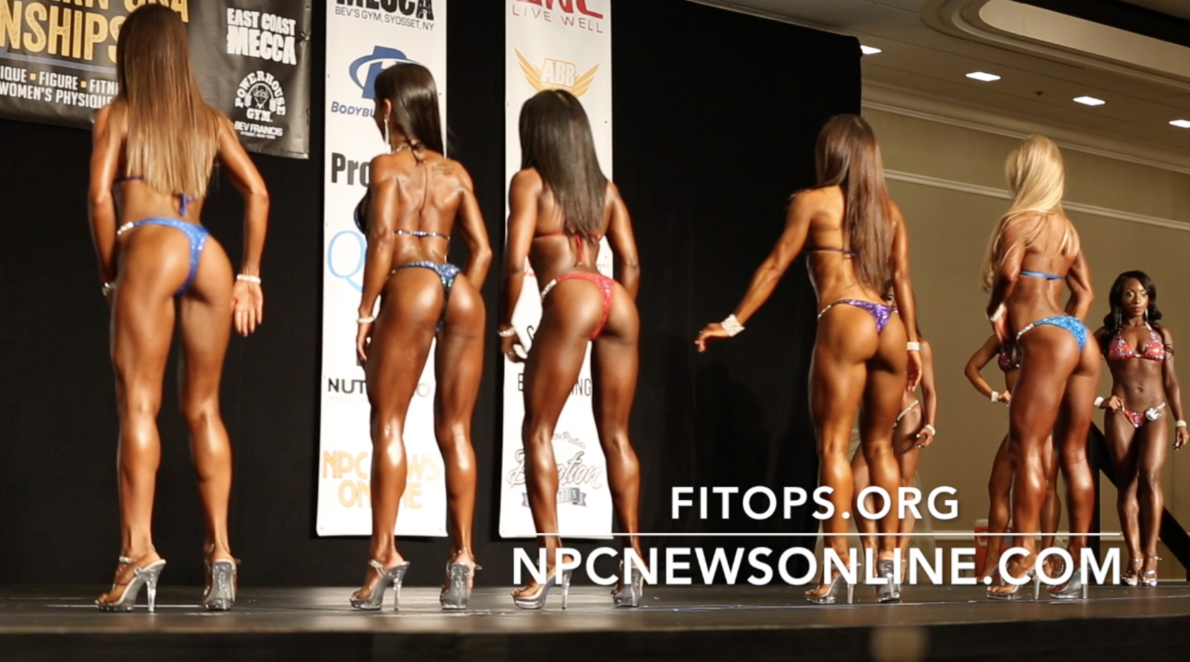2017 NPC EASTERN BIKINI BACKSTAGE VIDEO PART 1