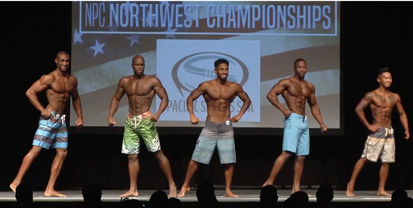2017 NPC Northwest Championship Men's Physique Overall Video