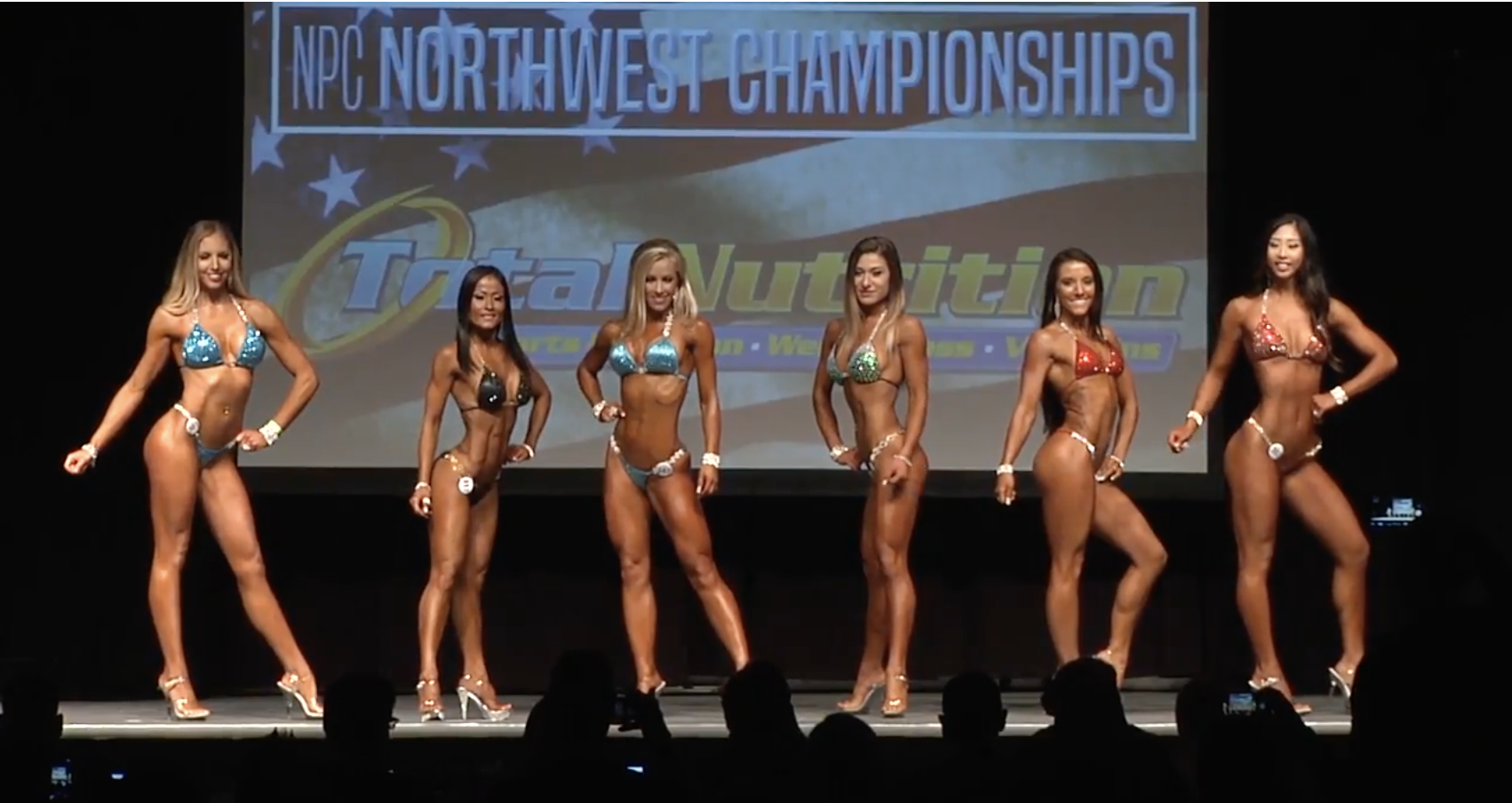 2017 NPC Northwest Championship Bikini Overall Video