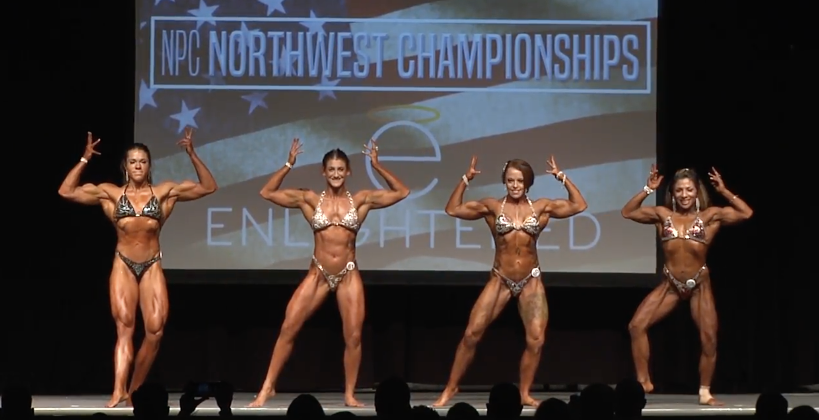 2017 NPC Northwest Championship Women's Physique Overall Video