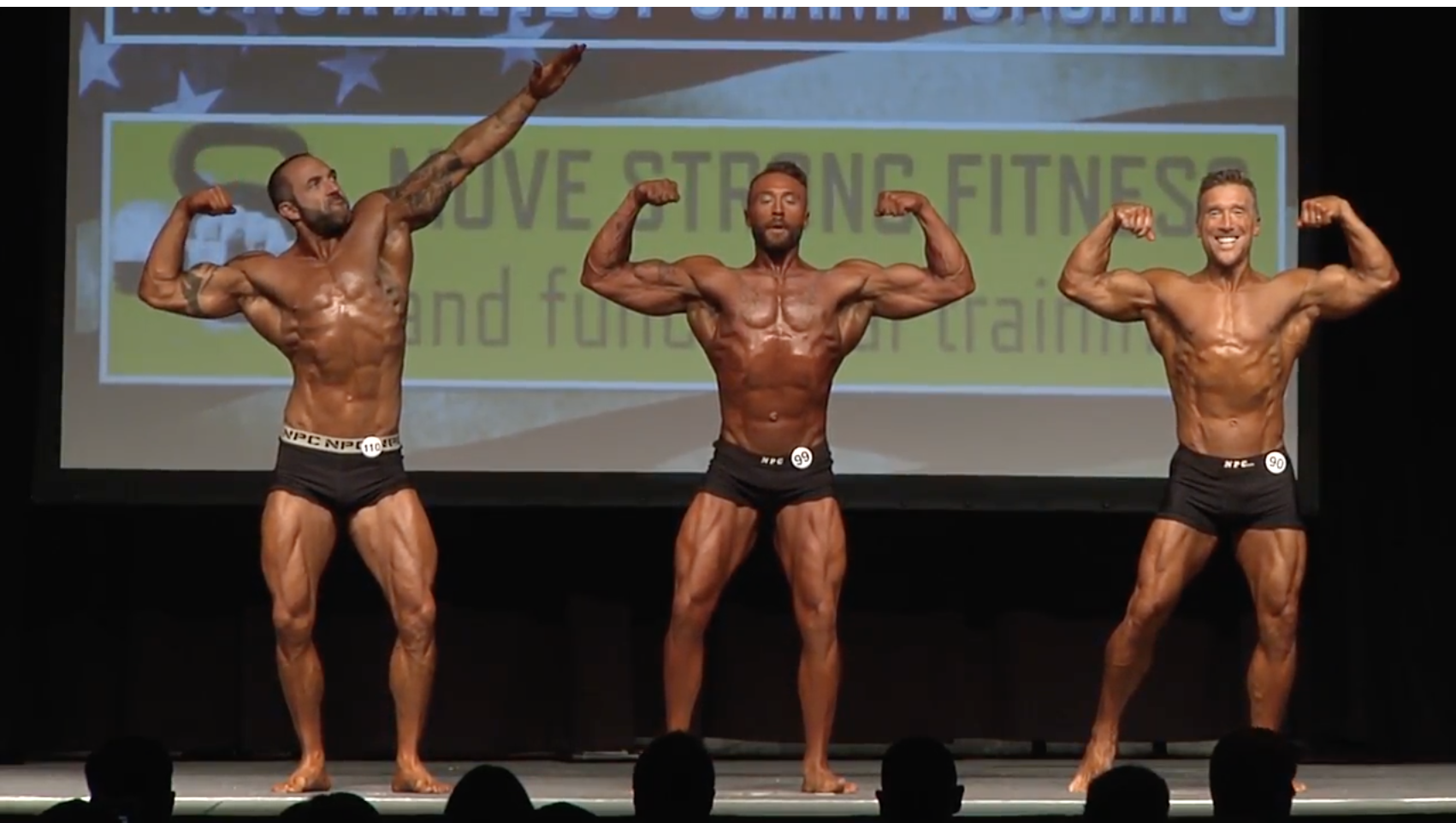 2017 NPC Northwest Championship Men's Classic Physique Overall