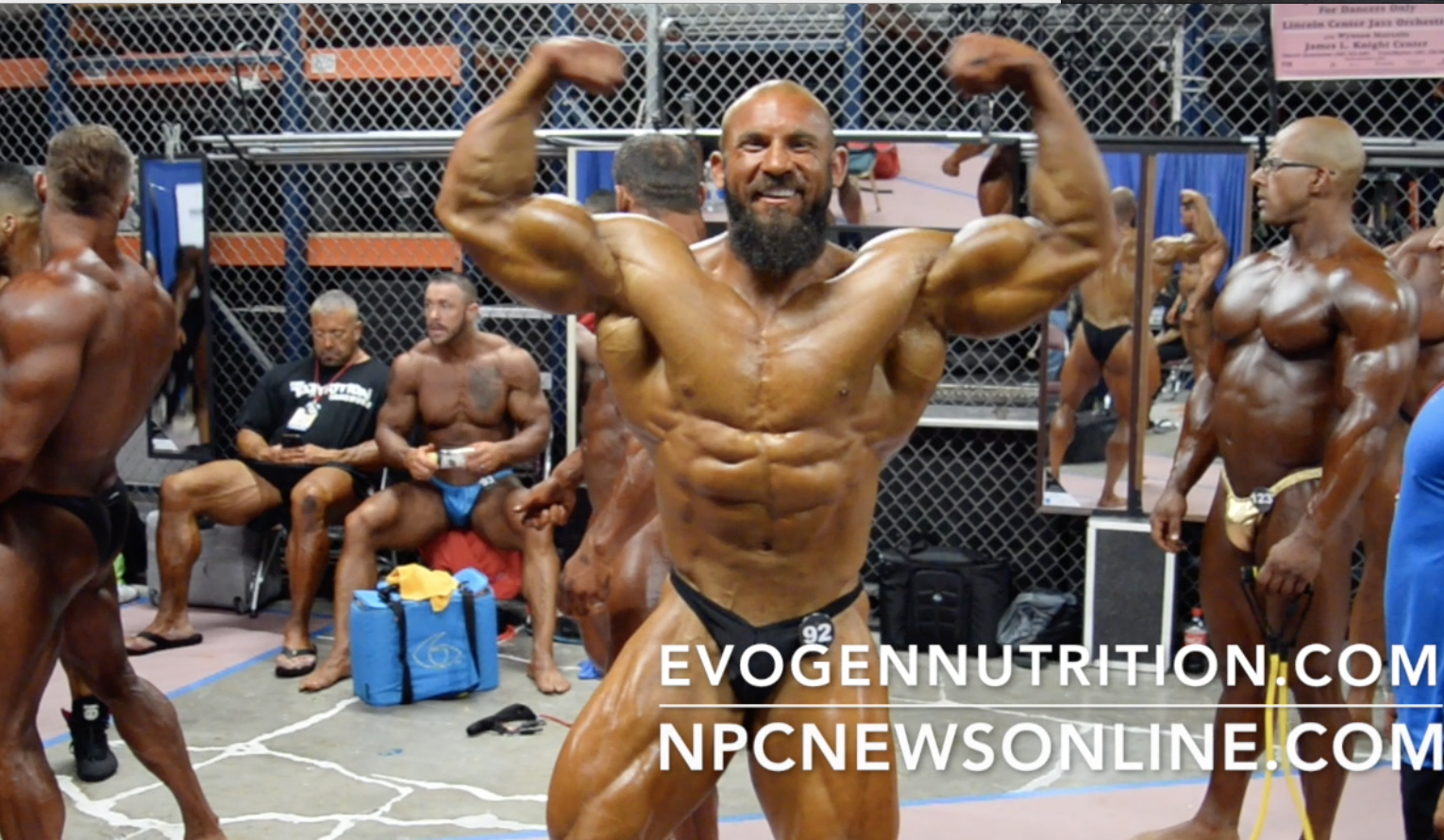 2017 NPC National Bodybuilding Championships: Bodybuilding Backstage Video Part 1.