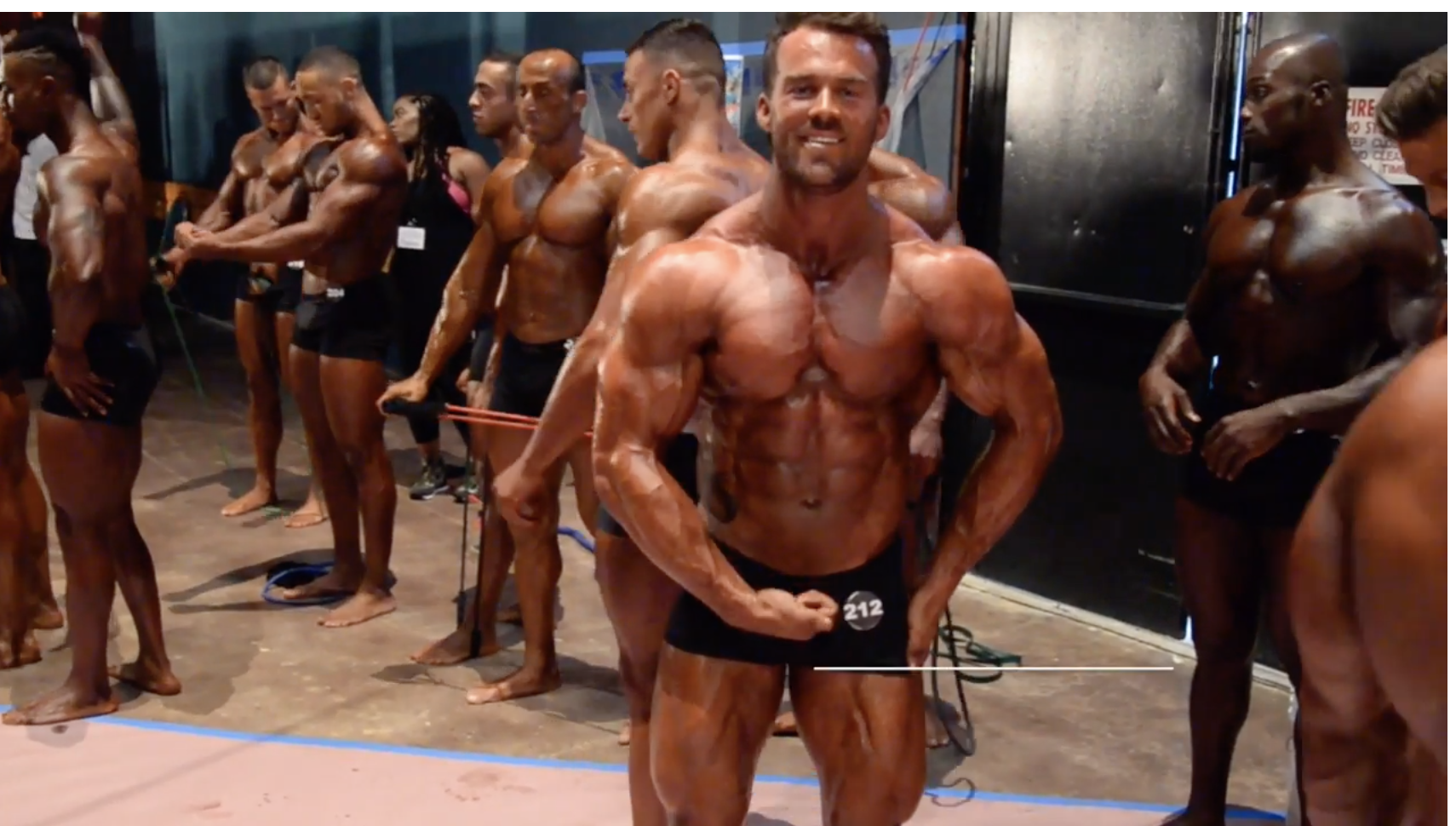 2017 NPC Nationals Men's Classic Physique Backstage Video Part 2