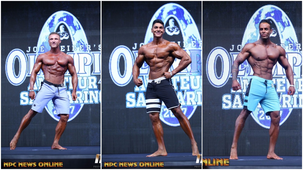 2017 AMATEUR OLYMPIA SAN MARINO: MEN'S PHYSIQUE PRO CARD WINNER PHOTO GALLERY