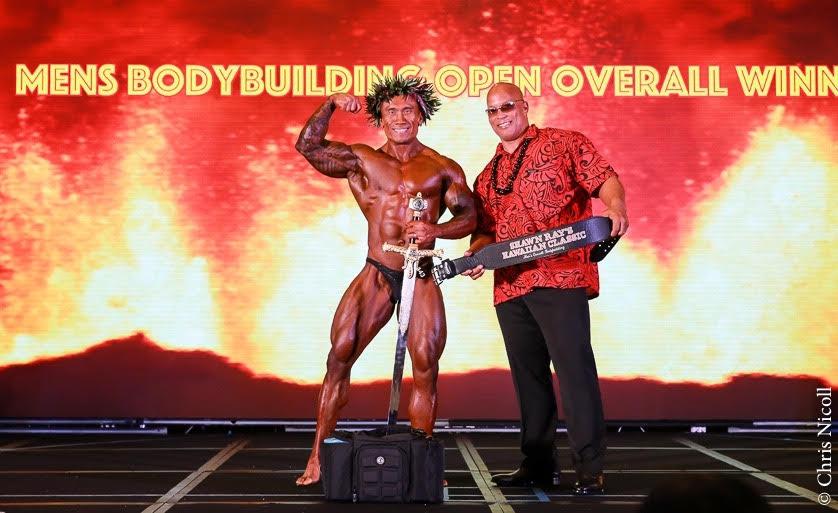 2017 NPC Shawn Ray Hawaiian Classic Bodybuilding Overall Winner Ramil Valbuena Video