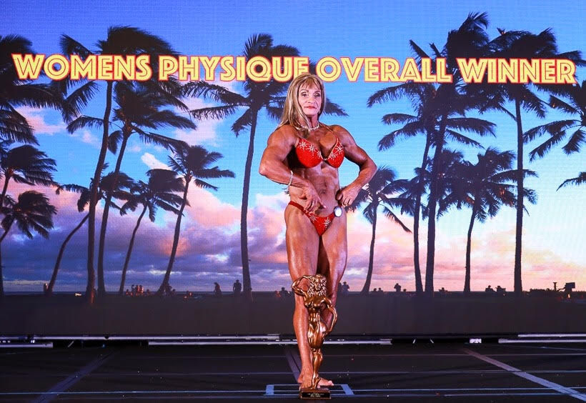 2017 NPC Shawn Ray Hawaiian Classic Open Women's Physique Overall Winner Diana Bumanglag Video