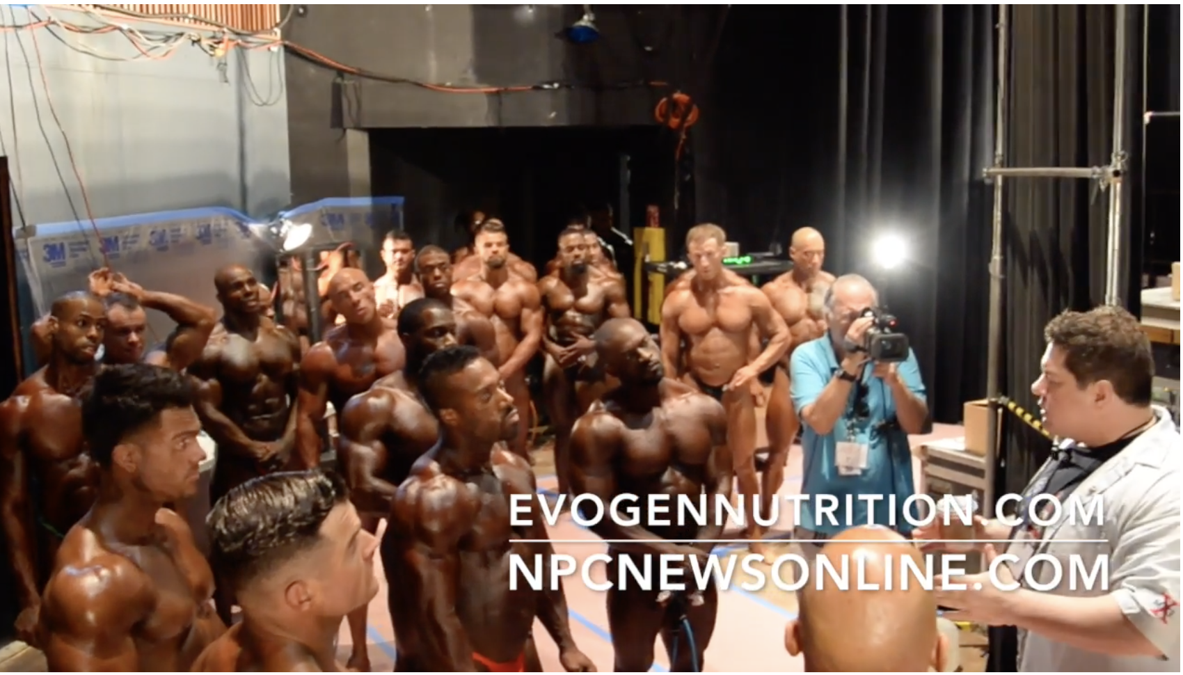 2017 NPC Nationals Bodybuilding Backstage Video Part 3