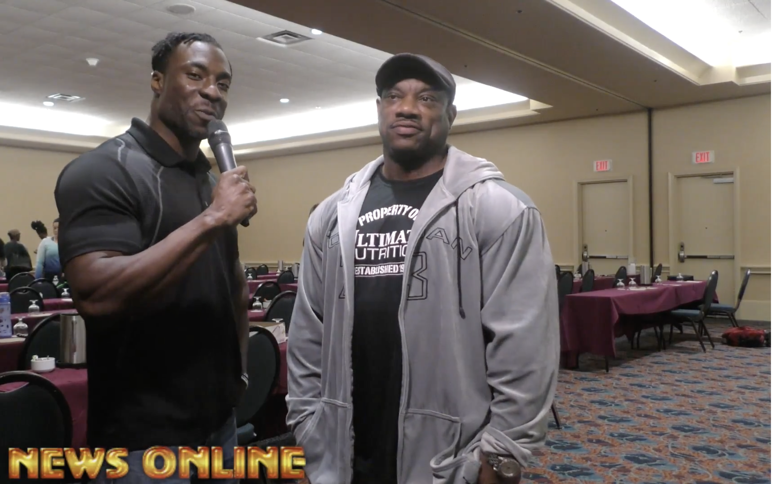 Travales Blount Interviews IFBB Bodybuilding Legend Dexter Jackson