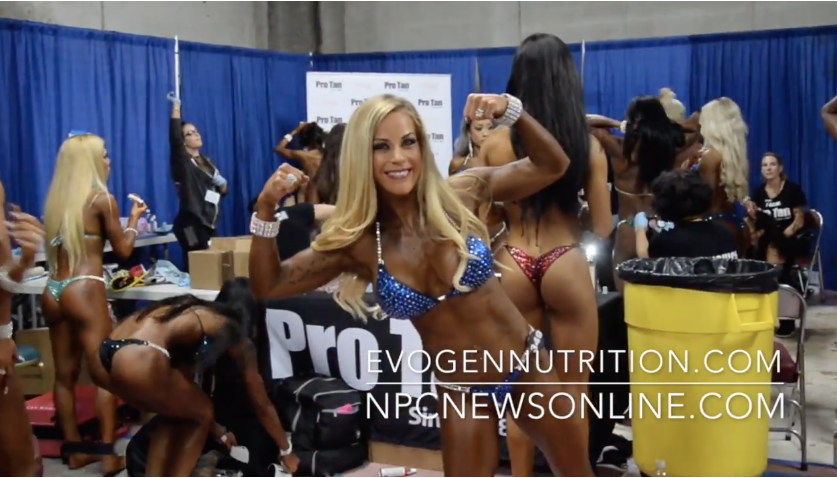 2017 NPC Nationals Bikini Backstage Video Part 7