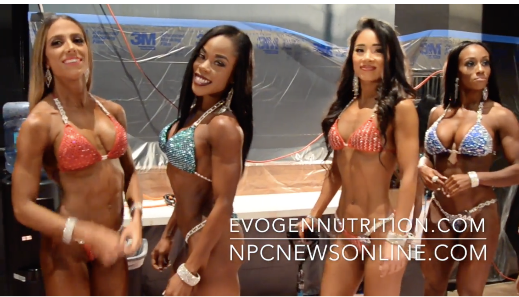 2017 NPC Nationals Bikini Backstage Video Part 6