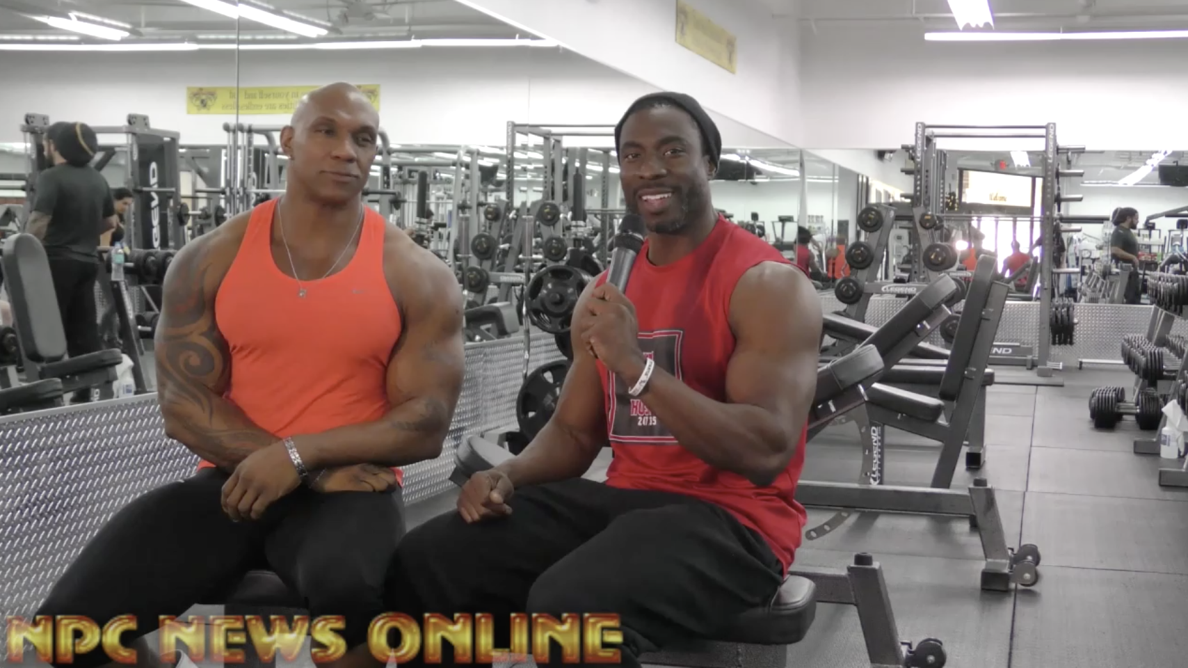 IFBB Pro Ferlan Bailey shares his story of how he became a bodybuilder with fellow IFBB Pro Travales Blount
